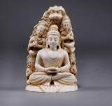 Buddha Amitabha, ivory, c. 1900