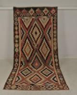 Orientteppich Kelim, Persien, ca. 315 x 140 cm