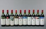 Mouton Rothschild samling 10 flasker 1971-1980