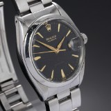 Rolex Oysterdate Precision. Vintage men's watch, steel with date, c. 1960s