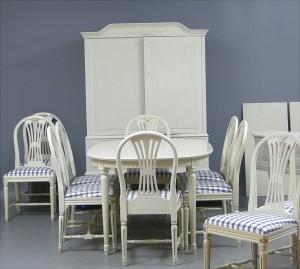 m bel esszimmerm bel gustavianischer stil 17 se malm baltzarsgatan. Black Bedroom Furniture Sets. Home Design Ideas