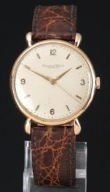 Vintage International Watch Co, IWC, herrearmbåndsur, 14 karat guld