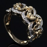 Flower ring from Heartbeats