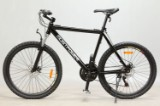26' MostPower Mountainbike, Hardtail, SORT 48 cm stel