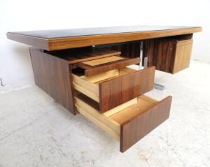 lot 4289250 gro er chef schreibtisch der 1960 70er jahre. Black Bedroom Furniture Sets. Home Design Ideas