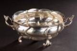 Bowl / silver bowl, 826 silver, 1760, Copenhagen