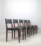Helmut Magg, a set of chairs, model 3024 for Deutsche Werkstätten WK (5)