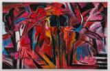 Erol Kinali, 'Das Fest', 2009, olie/akryl på lærred