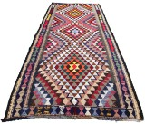 Kelim tæppe 320 x 158 cm