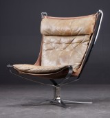 Sigurd Resell. 'Falcon' Lounge stol