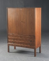 Danish furniture producer, Cabinet/ Service cabinet in rosewood