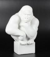 Pia Langeland for Kgl., figur i form af Gorilla, stentøj, 1. sorterin