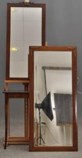 2 st speglar samt bord (3)