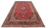 Persisk handknuten matta Kashan, 410x305 cm