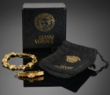 Gianni Versace, armbånd samt hårspænde (2)