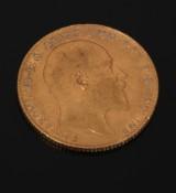 England. Edvard VII, Guldmønt 1906