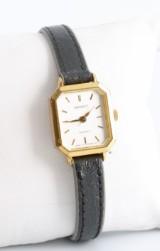 Orient quartz gold plated watch