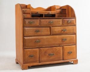 slutpris f r k chenkommode weichholz um 1900. Black Bedroom Furniture Sets. Home Design Ideas