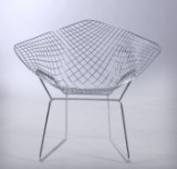 Harry Bertoia. Lounge stol, Diamond Lounge chair, model 421