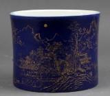 A Chinese brush pot