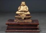Happy Buddha af bronze (2)