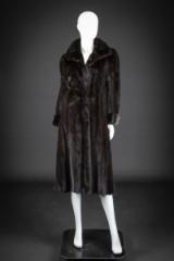 Mink coat, Scanblack, size 36-38