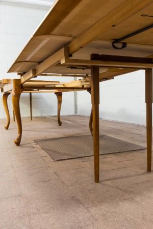 vara 4159299 gro er ausziehtisch esstisch mit 19 st hlen 20. Black Bedroom Furniture Sets. Home Design Ideas