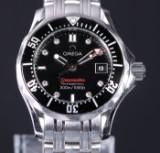 Omega 'Seamaster Professionel' damearmbåndsur med diamanter