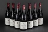 9 flasker Chateauneuf Domaine de la Mordorée, 'La Reine Des Bois' 2008 (9)