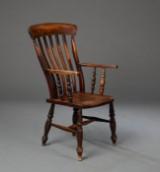 Captain's chair af eg, 1900 - tallet.