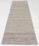Orientalisk flatvävd gallerimatta, modern Kelim 300x80