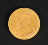 Krugerrand, guldmønt 1971.