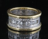 18kt diamond ring approx. 0.87ct.<br>
