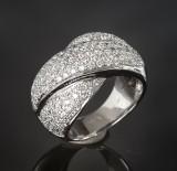Brilliant-cut diamond ring, approx. 1.66 ct.