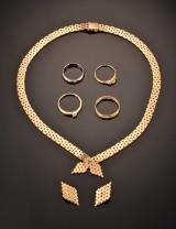 Samling guldsmykker - 43,8 gram (7)