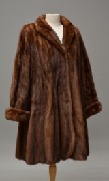 Jacket, brown Saga mink, Superb Quality