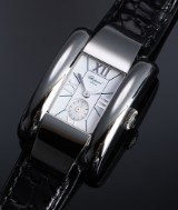 Chopard 'La Strada'. Ladies watch, steel with white dial - certificate 2016