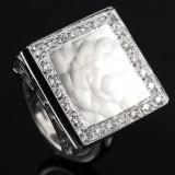 Design brillant ring ca. 0.55 ct.