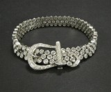 Gold bracelet featuring brilliant-cut diamonds approx. 8.93 ct.