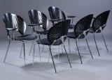 Nanna Ditzel. Six Trinidad chairs, model 3296 (6)