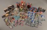 Micro Machines, Hasbro m.m. Samling Star Wars figurer og Startrek i org. æsker, 1980/1990'erne.