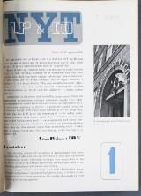Louis Poulsen. Samling 'LP & Co. NYT', indbundne magasiner om belysning mm. (3)