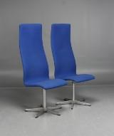 Arne Jacobsen, Fritz Hansen, stolar 3272 Oxford, 2 st