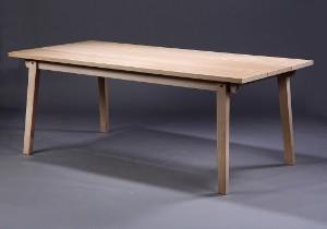 bord eg Normann Copenhagen, Slice table, oak. 90 x 200 cm | Lauritz.com bord eg