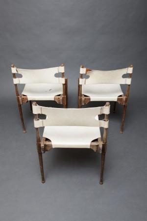 lot 3799791 otto frey 3 st hle 39 montreal 39 leder 3. Black Bedroom Furniture Sets. Home Design Ideas