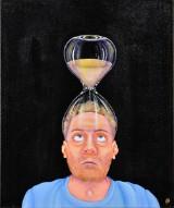 Lena Smirnova, akryl på lærred, 'Time out of mind'
