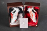 David Beckham Limited Edition football boots designed by Adidas, no. 68/723