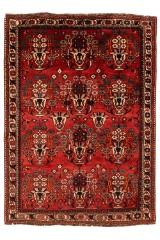 Shiraz. Orientalsk håndknyttet tæppe, 245x180 cm.