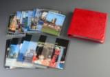 Danmark. Samling årsmapper og souvenirmapper