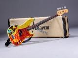 Fender Precicion Bass, 1963, dekoreret i 1972